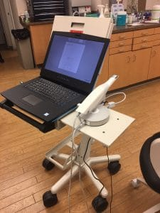 OraScanner and computer set up